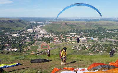 Paraglide Tandem - Tandem Paragliding in Golden, Colorado